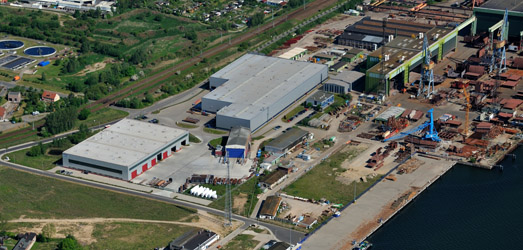 Area of Ostseestaal company