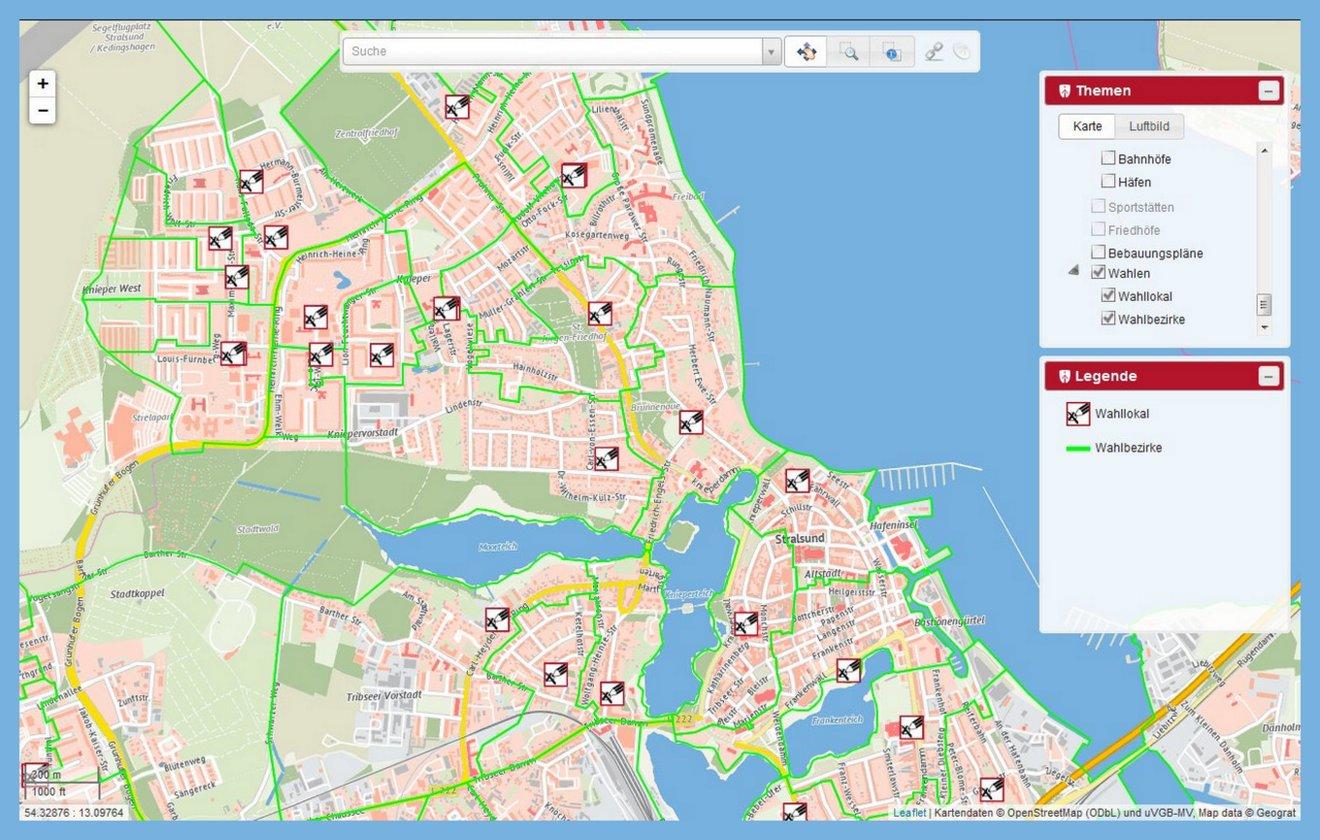 Stralsund Karte.Stadtverwaltung Stralsund Stellt Neuen Stadtplan Online