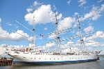 Heiraten auf der Gorch Fock I in Stralsund