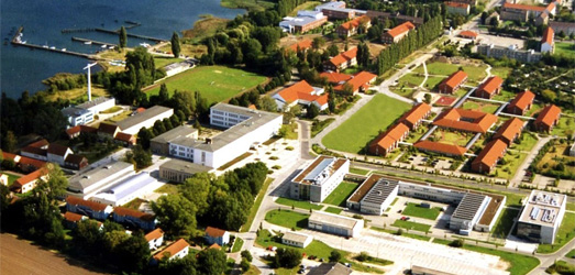 Campus of Stralsund University of Applied Sciences