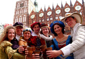 Wallensteintage (historical fair) in Stralsund