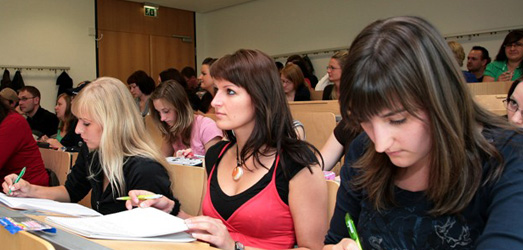 lecture at the Fachhochschule Stralsund